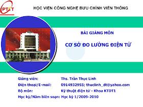 Slide.cơ Sở Đo Lường Điện Tử - Ths.trần Thục Linh.pdf