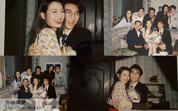 現場實拍的照片很有真實感,呂慧儀、張景淳與熊家的喜悅都似真的一樣。
