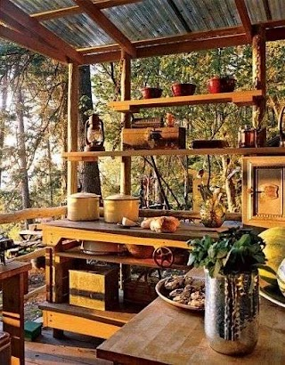 Rustic Outdoor Kitchens Small for The Home Kitchen Small