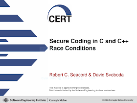 EN - Secure Coding in C and C++ Race Conditions.pdf