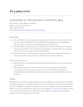 Committee on Transportation and Public Way
