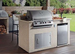 Gas Grill Inserts Outdoor Kitchens The Home Depot