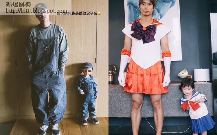 余文樂的父子裝,型!陳柏宇的父母裝,爆!