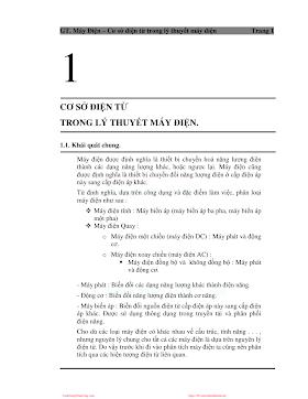 ĐHCN.Giáo Trình Máy Điện - Nhiều Tác Giả, 74 Trang.pdf