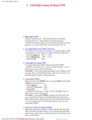 Giáo Trình Sửa Chữa Điện Thoại Di Động - Nhiều Tác Giả, 342 Trang.pdf