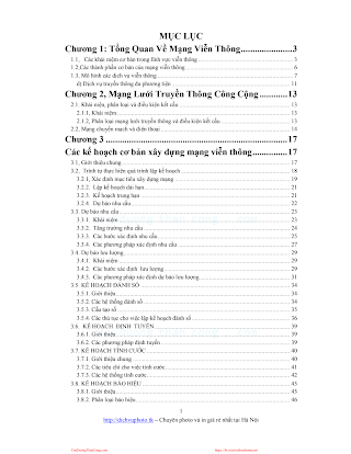 Giáo Trình Tổ Chức Mạng Viễn Thông Hội Tụ - Nhiều Tác Giả, 103 Trang.pdf
