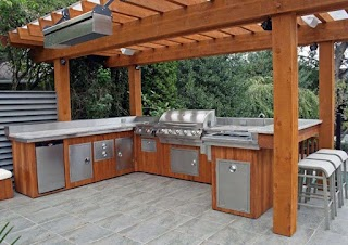 Outdoor Wood Kitchen Design Idea Your Favorite S