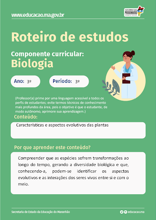 CARACTERISTICAS GERAIS E ASPECTOS EVOLUTIVOS- PLANTAS