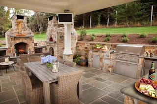 Outdoor Kitchen Designs with Pizza Oven 20 Amazing Ideas and My House
