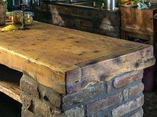 Outdoor Kitchen Wood Countertops Countertop