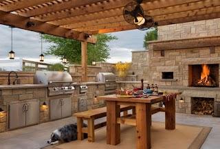 Outdoor Summer Kitchen Ideas Design 50 Pictures