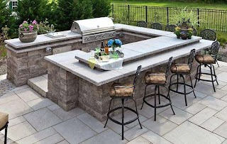 Outdoor Kitchen Countertops Best Options Cad Pro