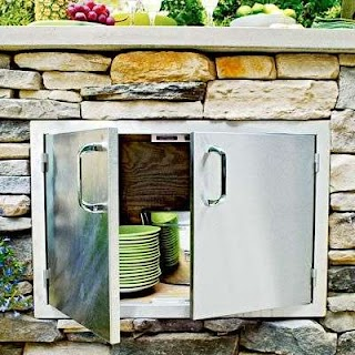 Stainless Doors for Outdoor Kitchens Read This Bee You Put in an Kitchen Living