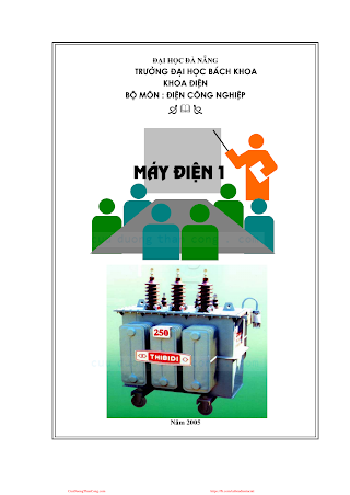 ĐHĐN.Máy Điện 1 - Bùi Tấn Lợi, 158 Trang.pdf