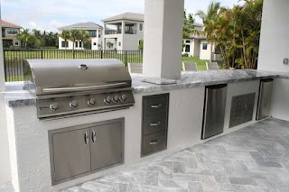 Outdoor Kitchen Appliances Packages Brandel Masonry Inc