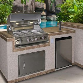 Outdoor Kitchen Kegerator Cal Flame Freestanding Or Buildin