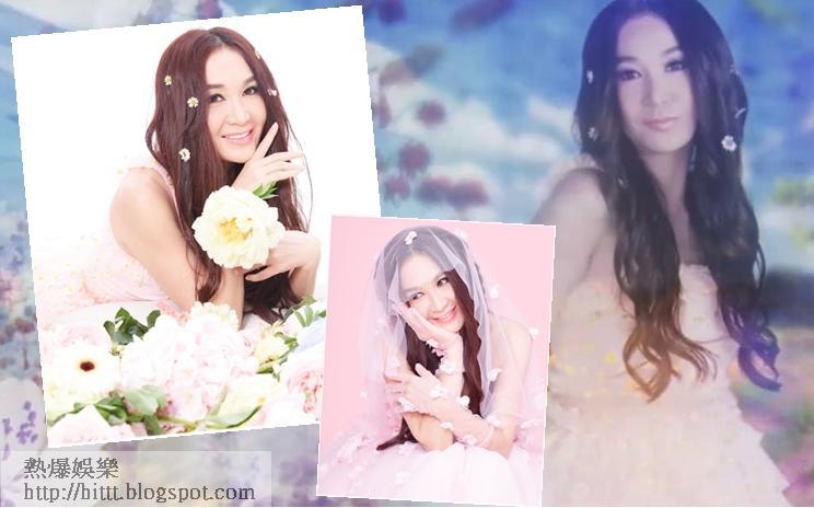 MV中將Irene打造成花花女神。
