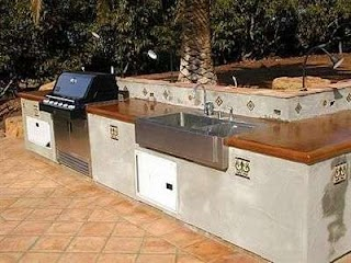 Spanish Style Outdoor Kitchen Bbq S Surfacing Solutions Temecula Ca