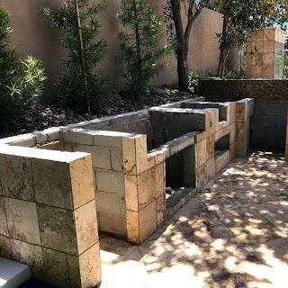Diy Cinder Block Outdoor Kitchen Build S Designs