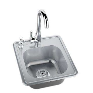 Outdoor Kitchen Sinks and Faucets Bars S The Home Depot