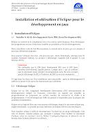 Installation et utilisation d'Eclipse.pdf