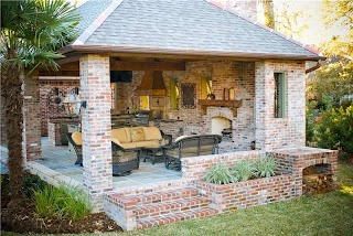 Louisiana Outdoor Kitchens Highend Kitchen in Landscaping Network