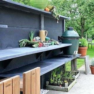 Built in Smoker Outdoor Kitchen Grupamedialnafo