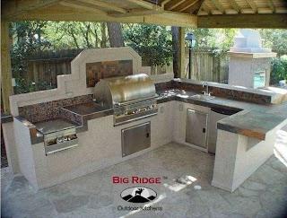 Premade Outdoor Kitchen Prefab Galleria