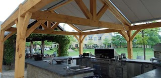 Commercial Outdoor Kitchen Natural Landscape Group