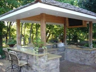 Pergola Kitchen Outdoor Small Designs with S In