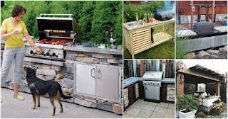 Outdoor Barbecue Kitchen 15 Amazing DIY Plans You Can Build on a Budget Diy