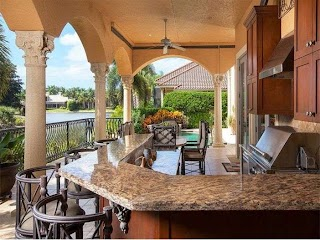 Outdoor Kitchens Naples Grill and Kitchen Islands Offered at Elegant Living