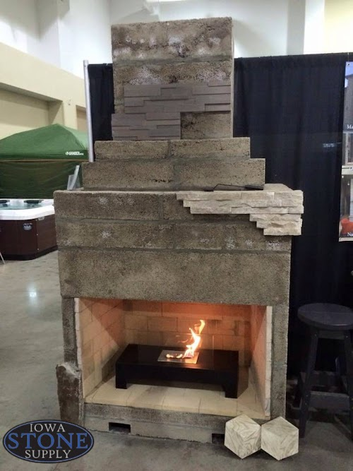 Stone Age Fireplace Kit