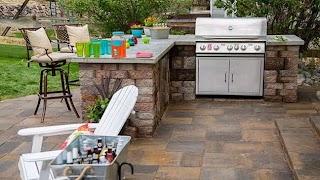 Pavestone Outdoor Kitchen Time Lapse Todays Homeowner