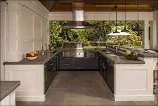 U Shaped Outdoor Kitchen Designs 10 Beatifl Otdoor Inspiration