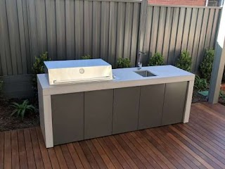 Outdoor Kitchens Melbourne Home on Deck