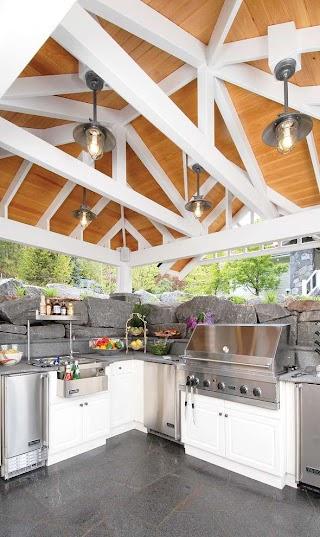 Indoor Outdoor Kitchen Ideas 95 Cool Designs Digsdigs