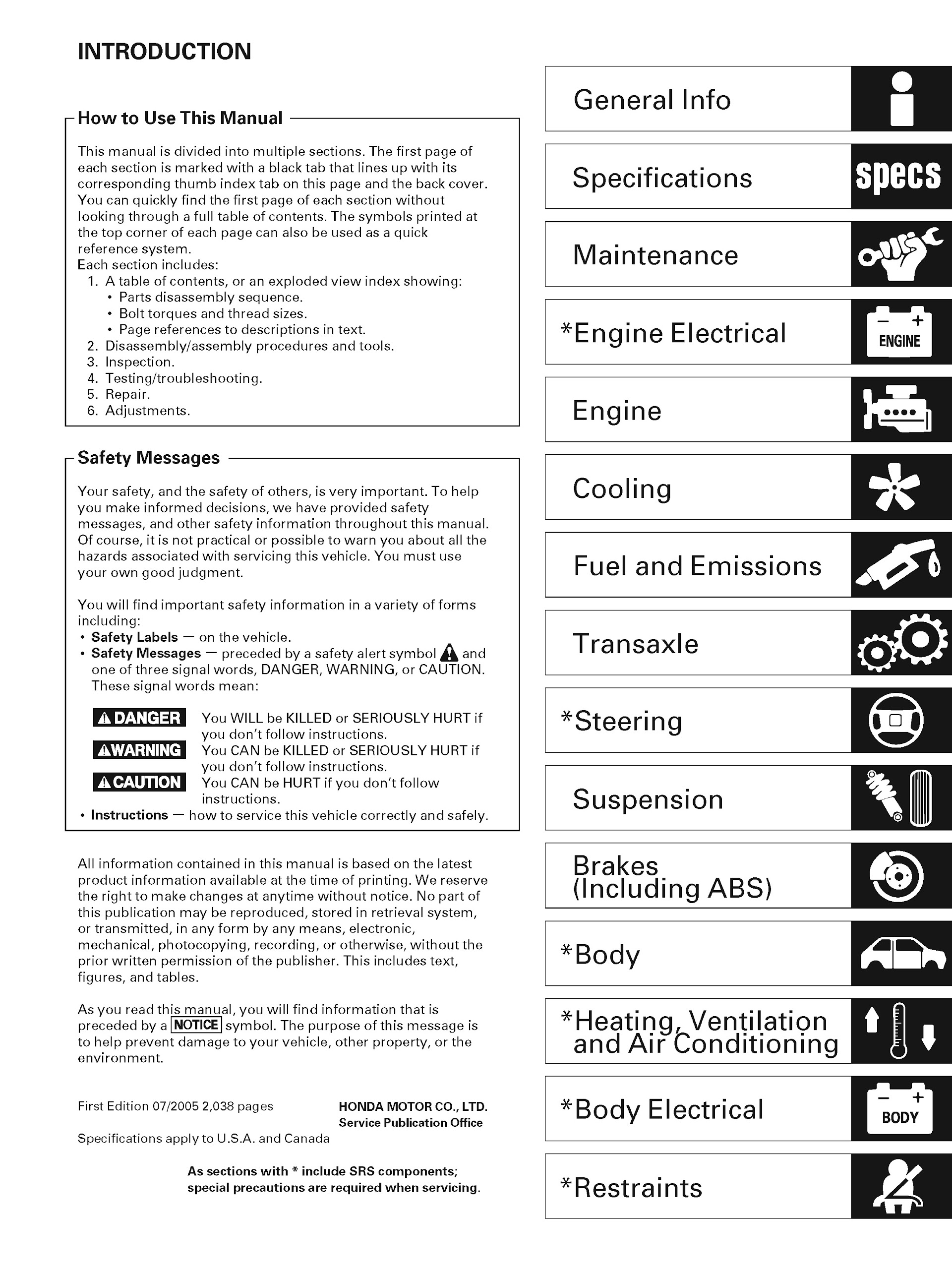 Download 2002-2006 Acura RSX Service Repair Manual