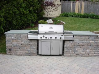 Outdoor Kitchen Grill Insert Nyc Fireplace And