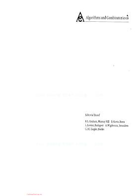 3540646221 {614D9613} Probabilistic Methods for Algorithmic Discrete Mathematics [Habib, McDiarmid, Ramirez-Alfonsin _ Reed 1998-08-19].pdf