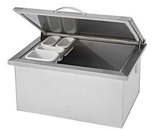 Outdoor Kitchen Drop in Cooler Amazoncom Delsol Dsoc28 Garden