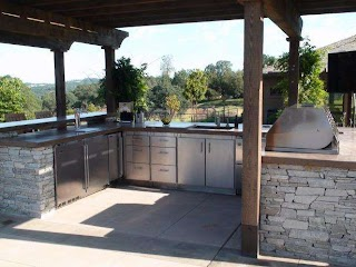 Outdoor Kitchen Layouts Optimizing an Layout Hgtv