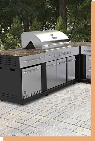 Modular Bbq Outdoor Kitchen Charcoal Natural Gas and Ideas Find The Grill