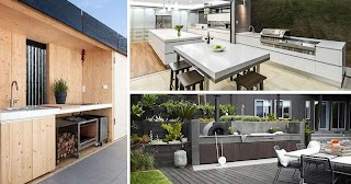 Modern Outdoor Kitchen 7 Design Ideas for Awesome Backyard Entertaining