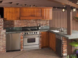 Outdoor Kitchen Cabinets Pictures Options Tips Ideas Hgtv