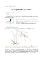 Cours sur le Montage Emmeteur Commun Electronique General.pdf