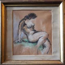 """Tablou """"Nud"""", Vasile Stefan"""