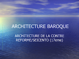 ARCHITECTURE BAROQUE.ppt