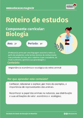 IMPORTÂNCIA ECONÔMICA E ECOLÓGICA DO REINO