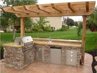 Simple Outdoor Kitchen Designs an Design Can Consist of Different Aspects And